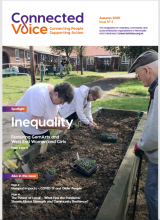 Connected Voice Magazine Autumn front cover image